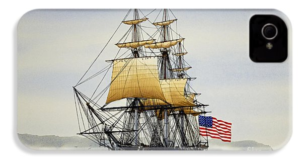 Uss Constitution IPhone 4 / 4s Case by James Williamson