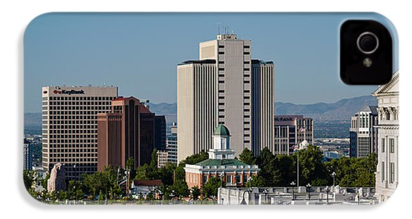 Utah State Capitol Building, Salt Lake IPhone 4 / 4s Case by Panoramic Images