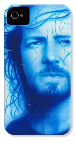 Eddie Vedder - ' Vedder ' IPhone 4 / 4s Case by Christian Chapman Art