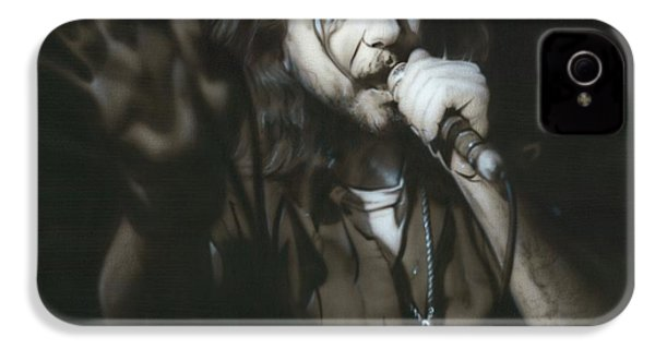 Eddie Vedder - ' Vedder IIi ' IPhone 4 / 4s Case by Christian Chapman Art