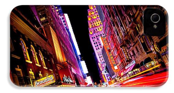 Vibrant New York City IPhone 4 / 4s Case by Az Jackson