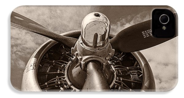 Vintage B-17 IPhone 4 / 4s Case by Adam Romanowicz