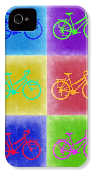 Vintage Bicycle Pop Art 2 IPhone 4 / 4s Case by Naxart Studio
