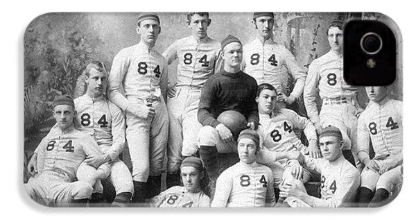 Vintage Football Circa 1900 IPhone 4 / 4s Case by Jon Neidert