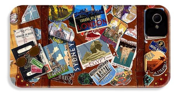 Vintage Travel Case IPhone 4 / 4s Case by Garry Walton