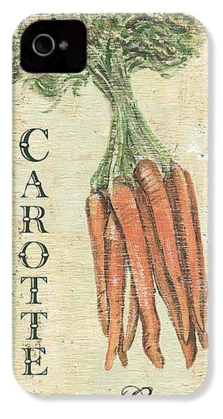 Vintage Vegetables 4 IPhone 4 / 4s Case by Debbie DeWitt