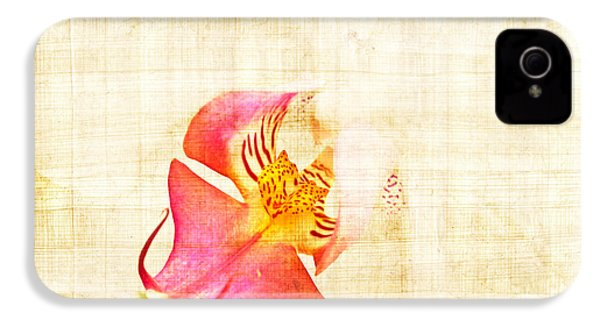 Vintage White Orchid IPhone 4 / 4s Case by Delphimages Photo Creations