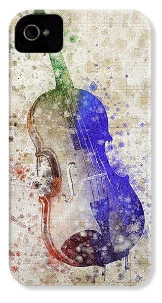 Violin IPhone 4 / 4s Case by Aged Pixel