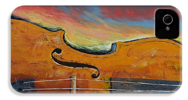 Violin IPhone 4 / 4s Case by Michael Creese