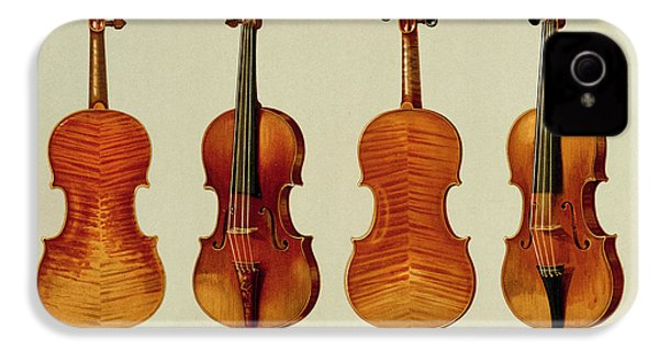Violins IPhone 4 / 4s Case by Alfred James Hipkins