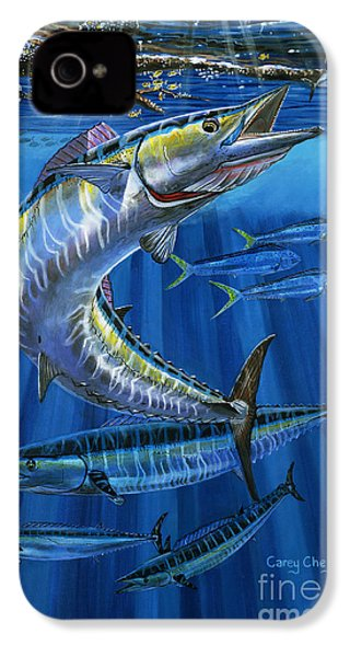 Wahoo Rip Off0047 IPhone 4 / 4s Case by Carey Chen