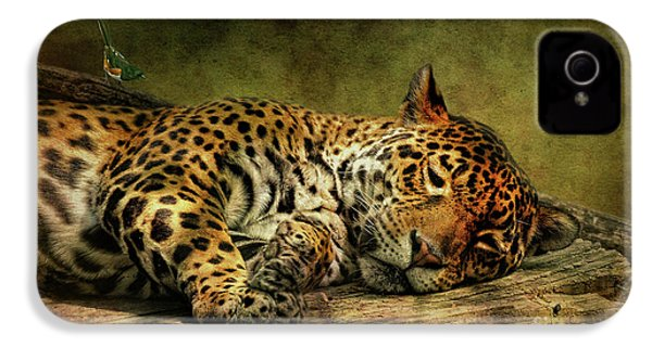 Wake Up Sleepyhead IPhone 4 / 4s Case by Lois Bryan
