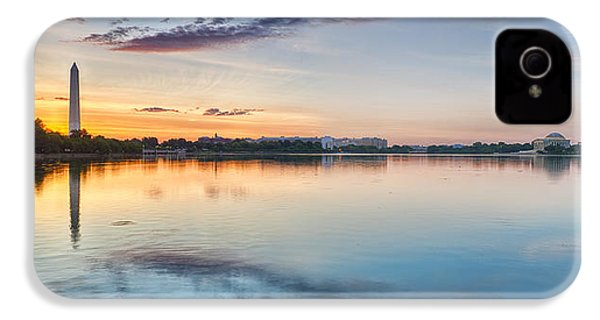 Washington Dc Panorama IPhone 4 / 4s Case by Sebastian Musial