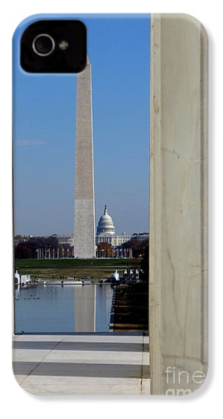 Washington Landmarks IPhone 4 / 4s Case by Olivier Le Queinec