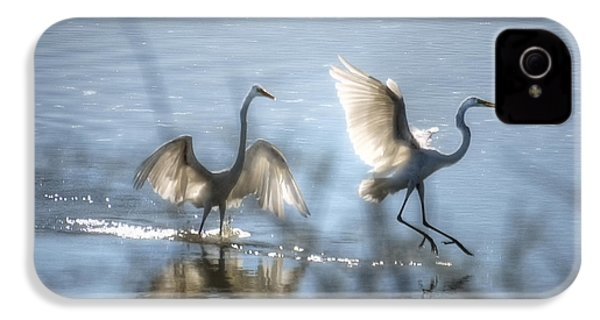 Water Ballet  IPhone 4 / 4s Case by Saija  Lehtonen