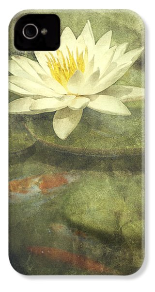 Water Lily IPhone 4 / 4s Case by Scott Norris