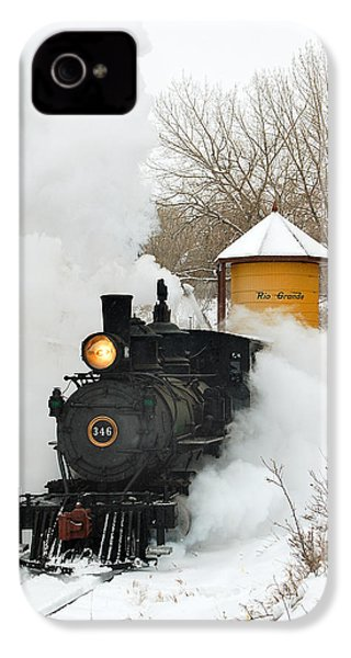 Water Tower Behind The Steam IPhone 4 / 4s Case by Ken Smith