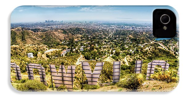 Welcome To Hollywood IPhone 4 / 4s Case by Natasha Bishop