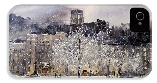 West Point Winter IPhone 4 / 4s Case by Sandra Strohschein