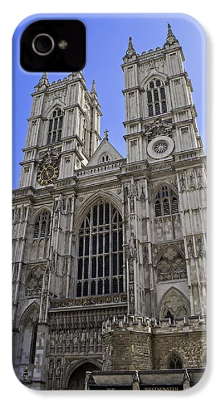 Westminster Abbey. IPhone 4 / 4s Case by Fernando Barozza