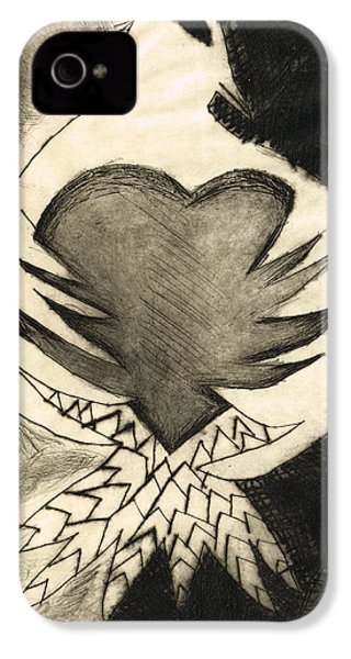 White Dove Art - Comfort - By Sharon Cummings IPhone 4 / 4s Case by Sharon Cummings