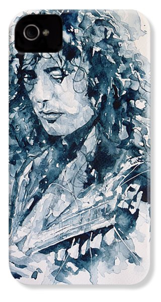 Whole Lotta Love Jimmy Page IPhone 4 / 4s Case by Paul Lovering