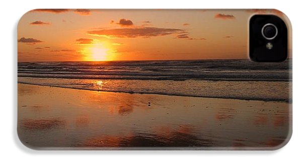 Wildwood Beach Sunrise IPhone 4 / 4s Case by David Dehner