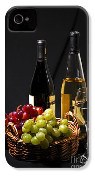Wine And Grapes IPhone 4 / 4s Case by Elena Elisseeva