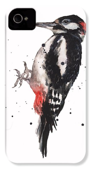 Wise Woody IPhone 4 / 4s Case by Alison Fennell