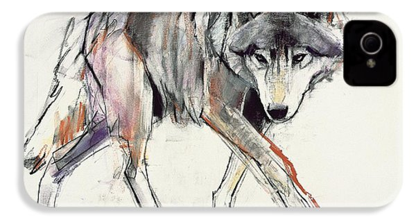 Wolf  IPhone 4 / 4s Case by Mark Adlington