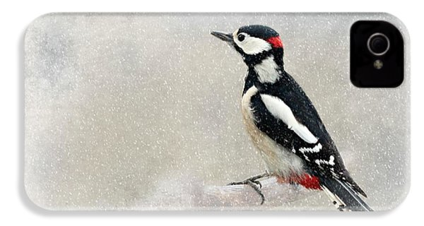 Woodpecker IPhone 4 / 4s Case by Heike Hultsch