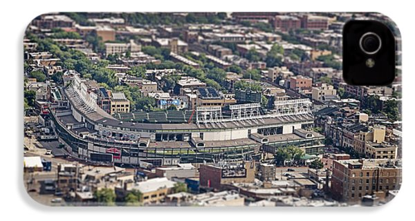 Wrigley Field - Home Of The Chicago Cubs IPhone 4 / 4s Case by Adam Romanowicz