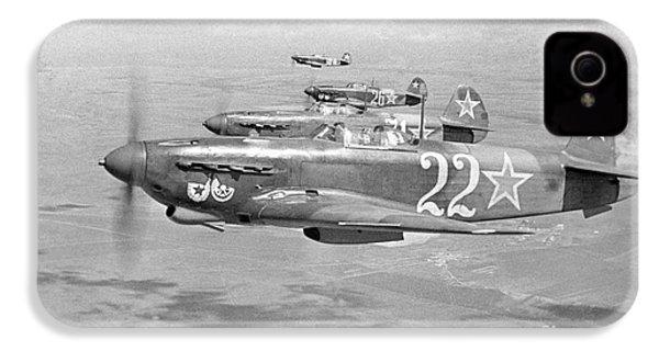 Yakovlev Yak-9 Fighters, 1942 IPhone 4 / 4s Case by Ria Novosti