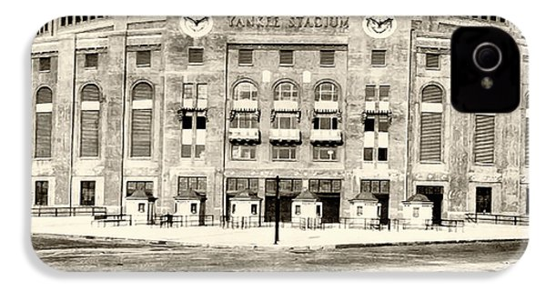 Yankee Stadium IPhone 4 / 4s Case by Bill Cannon