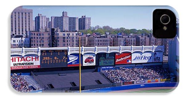 Yankee Stadium Ny Usa IPhone 4 / 4s Case by Panoramic Images