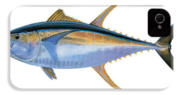 Yellowfin Tuna IPhone 4 / 4s Case by Carey Chen