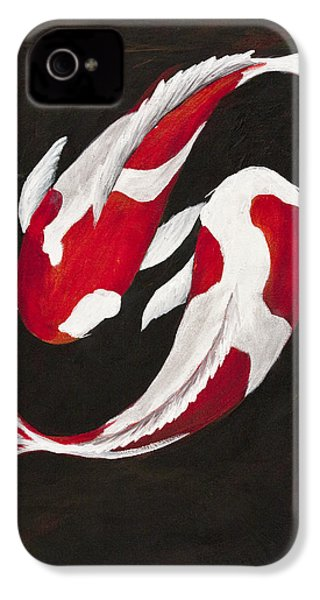 Yin And Yang IPhone 4 / 4s Case by Darice Machel McGuire