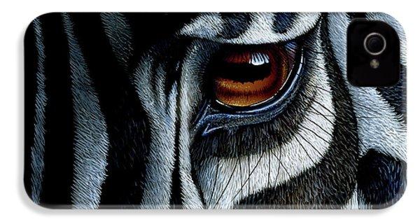 Zebra IPhone 4 / 4s Case by Jurek Zamoyski