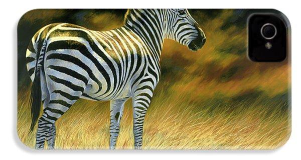 Zebra IPhone 4 / 4s Case by Lucie Bilodeau