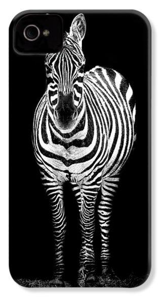 Zebra IPhone 4 / 4s Case by Paul Neville