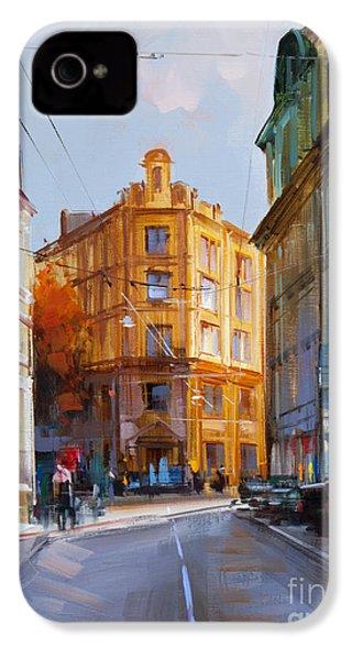 Zlatoustinskiy Alley.  IPhone 4 / 4s Case by Alexey Shalaev