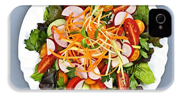 Garden Salad IPhone 4 / 4s Case by Elena Elisseeva