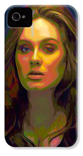Adele IPhone 4 / 4s Case by  Fli Art
