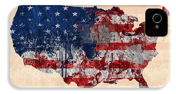 America IPhone 4 / 4s Case by Mark Ashkenazi
