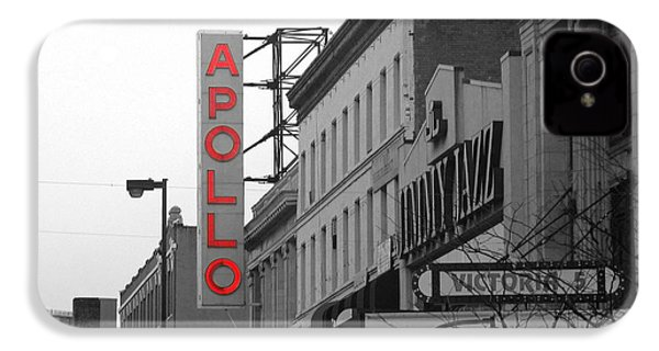 Apollo Theater In Harlem New York No.1 IPhone 4 / 4s Case by Ms Judi
