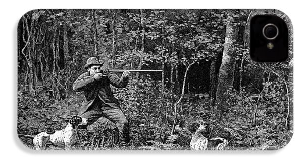 Bird Shooting, 1886 IPhone 4 / 4s Case by Granger