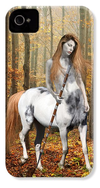 Centaur Series Autumn Walk IPhone 4 / 4s Case by Nikki Marie Smith