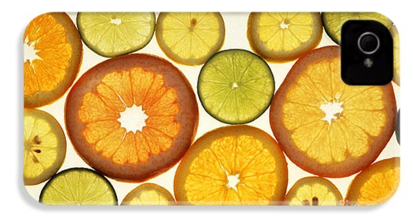 Citrus Slices IPhone 4 / 4s Case by Photo Researchers