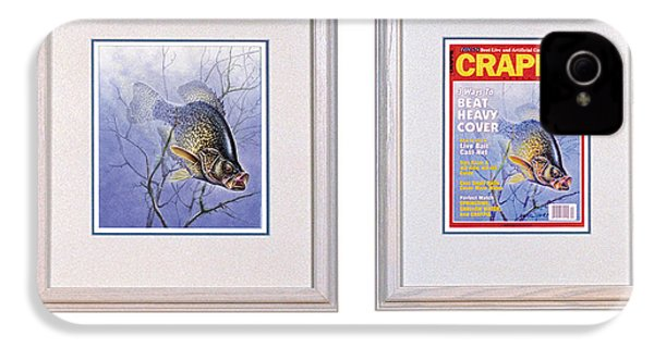 Crappie Magazine And Original IPhone 4 / 4s Case by JQ Licensing