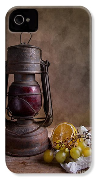 Lamp And Fruits IPhone 4 / 4s Case by Nailia Schwarz
